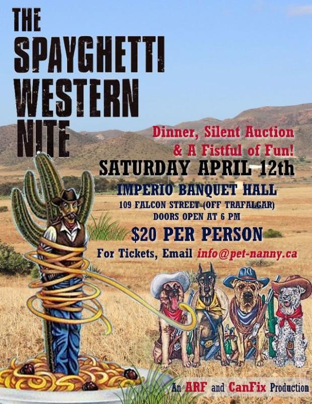 The Spayghetti Western Night